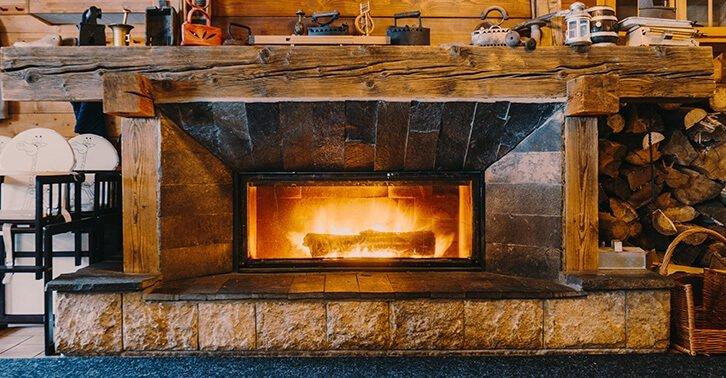 How To Conveert A Wood Burning Fireplace To Gas Mad Frags